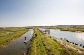 stand up paddle dans les marais st gilles croix de vie (1)