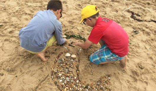 Création sable - Parenthèse Océan Voyages