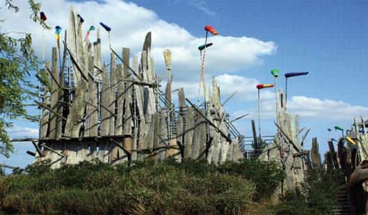 Art terrestre au bord de Loire - Parenthèse Océan Voyages